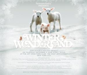 Winter Wonderland for the Animals Benefit