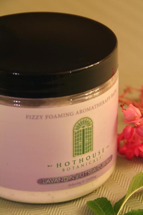 Lavandin/Litsea Cubeba Fizzy Foaming Bath