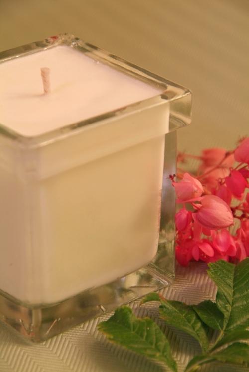 Bourbon Geranium Aromatherapy Soy Candle