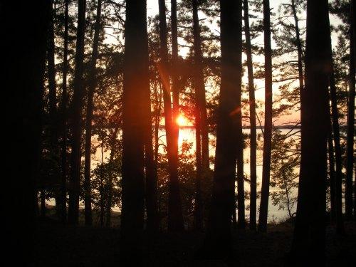 Ten Mile Lake Sunset