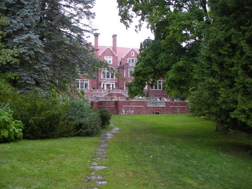 Glensheen mansion in Duluth, MN