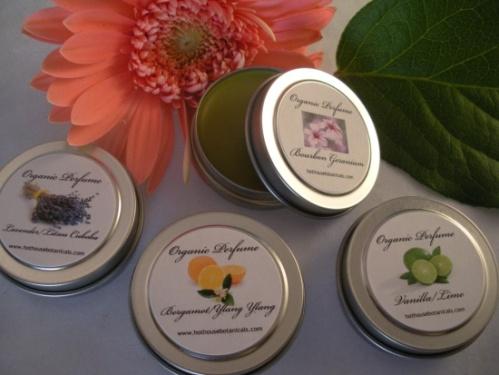 Solid Organic Perfumes