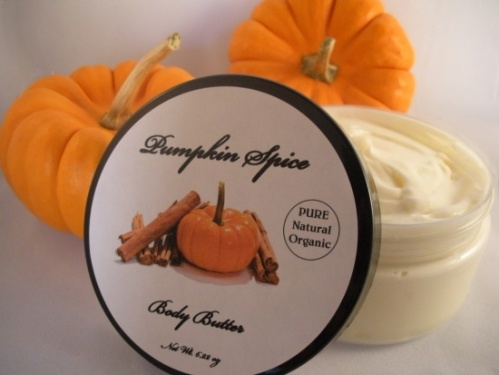 Pumpkin Spice Organic Body Butter