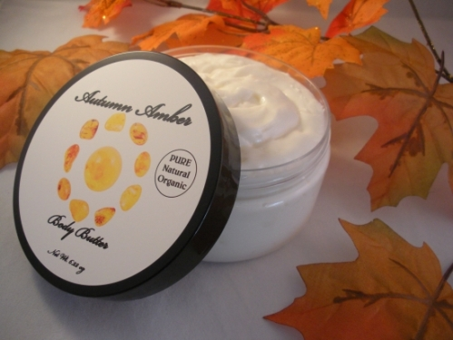 Autumn Amber Organic Body Butter