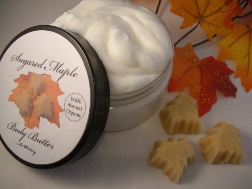 Sugared Maple Whipped Sugar Scrub